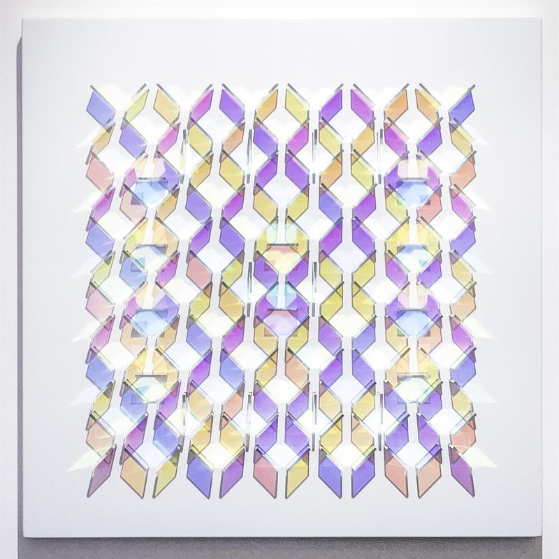 Study on a Square VI, 2018