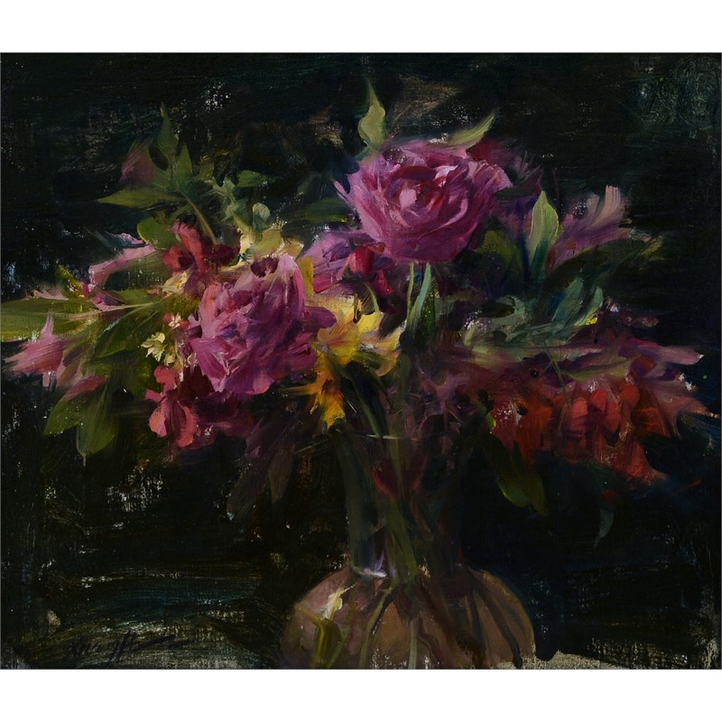 Bouquet of Peonies, 2018