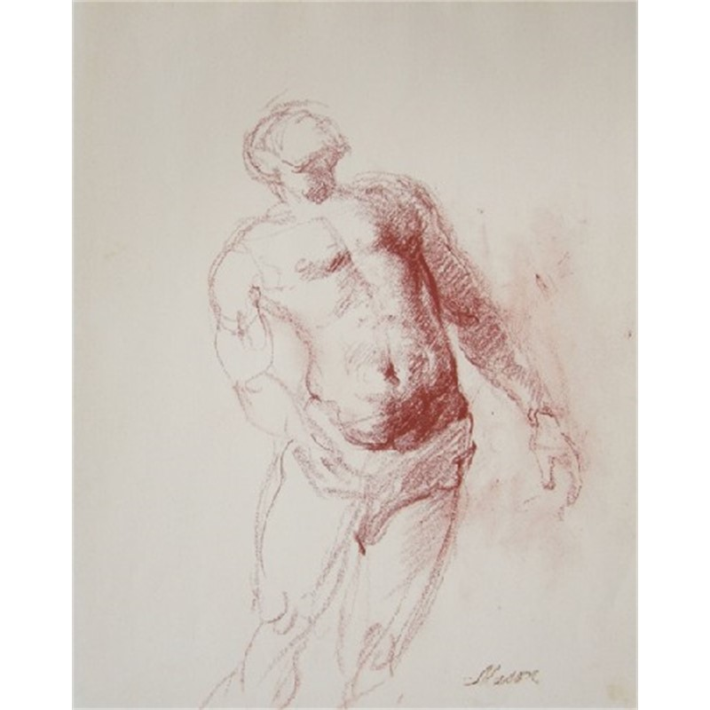 Hunter, Study of Dancer, 1953