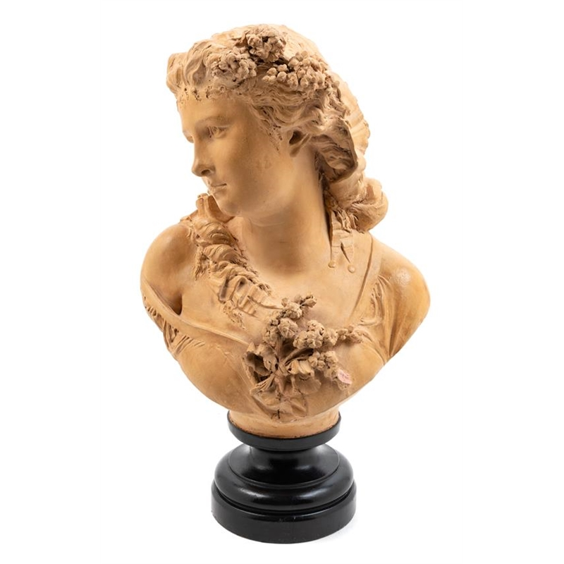 LE PRINTEMPS AFTER ALBERT-ERNEST CARRIER-BELLEUSE, French, 19th century