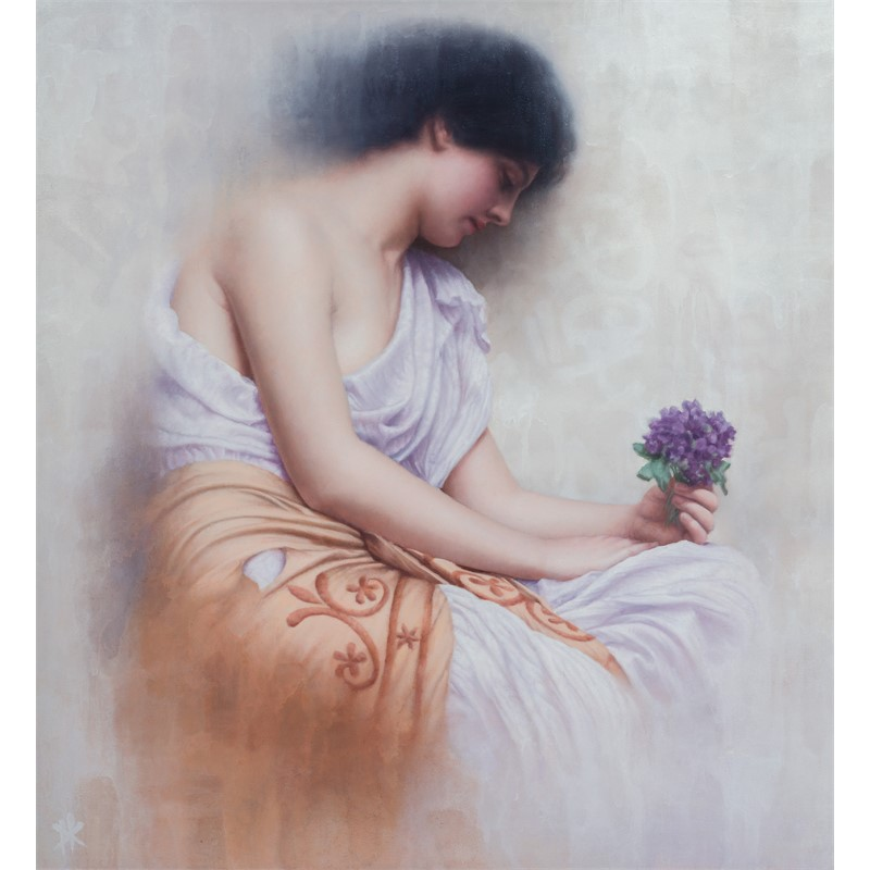 Revisiting Godward's Sweet Violet's, 2018