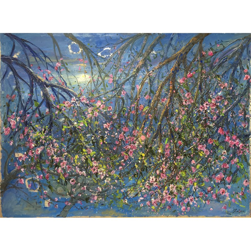 Hanging Almond Blossoms