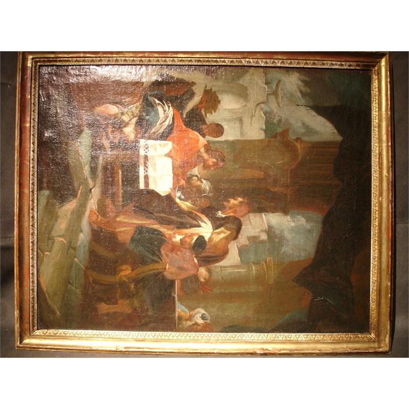 XAVIER-FRANCE PALKO/PAIR OF BIBLICAL SCENES, Circa 1750