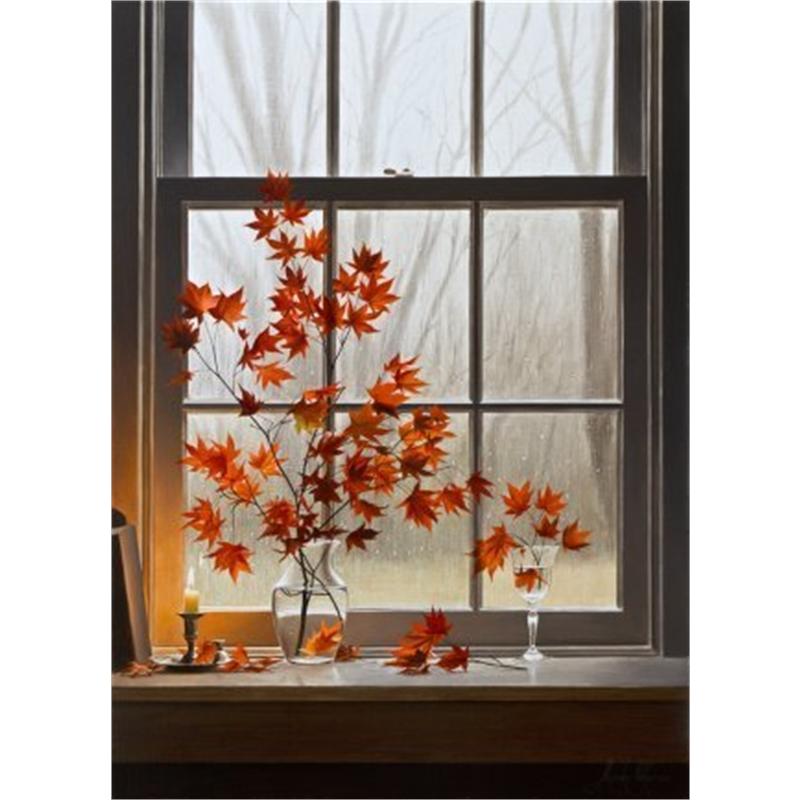 Autumn Window with Oriental Maple (0/100)