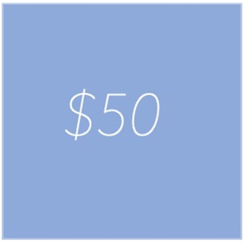 gift credit 50