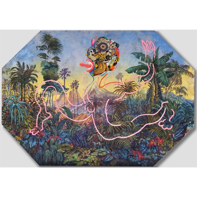 Plate Painting_Jumper by Ken Gun Min