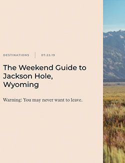Camille Styles - Jackson Hole, Gallery Wild