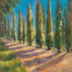 Landscape painting by Karen Hewitt Hagan