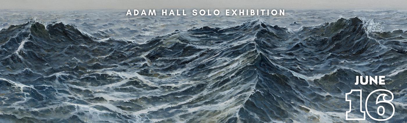 Adam Hall Solo Exhibition Promo Banner