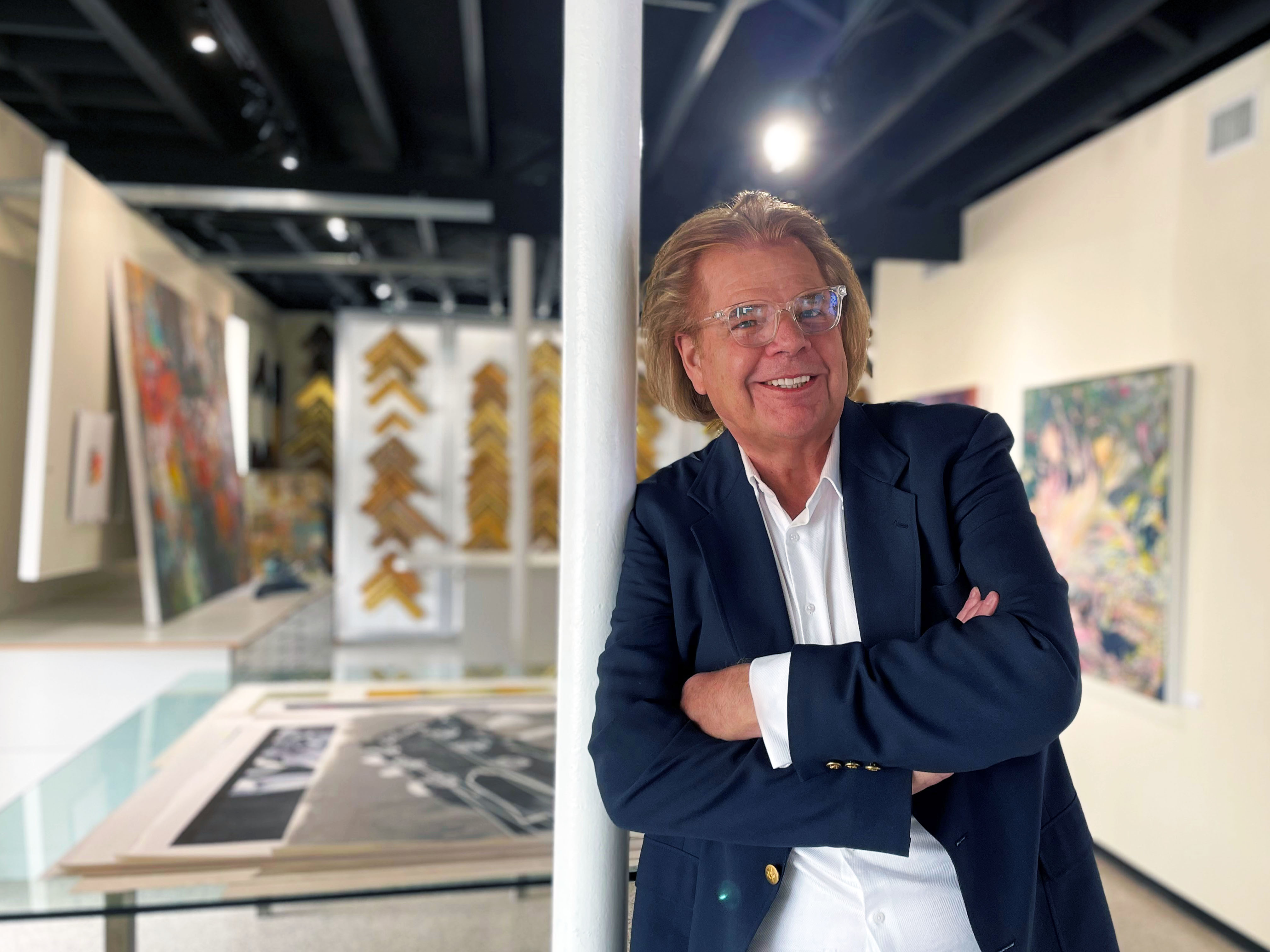 Gallery owner Michael Murphy