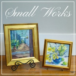 Small works icon featuring Karen Hewitt Hagan
