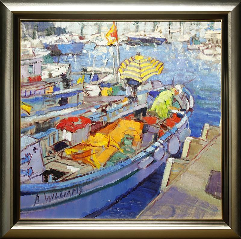 Cassis Boats I