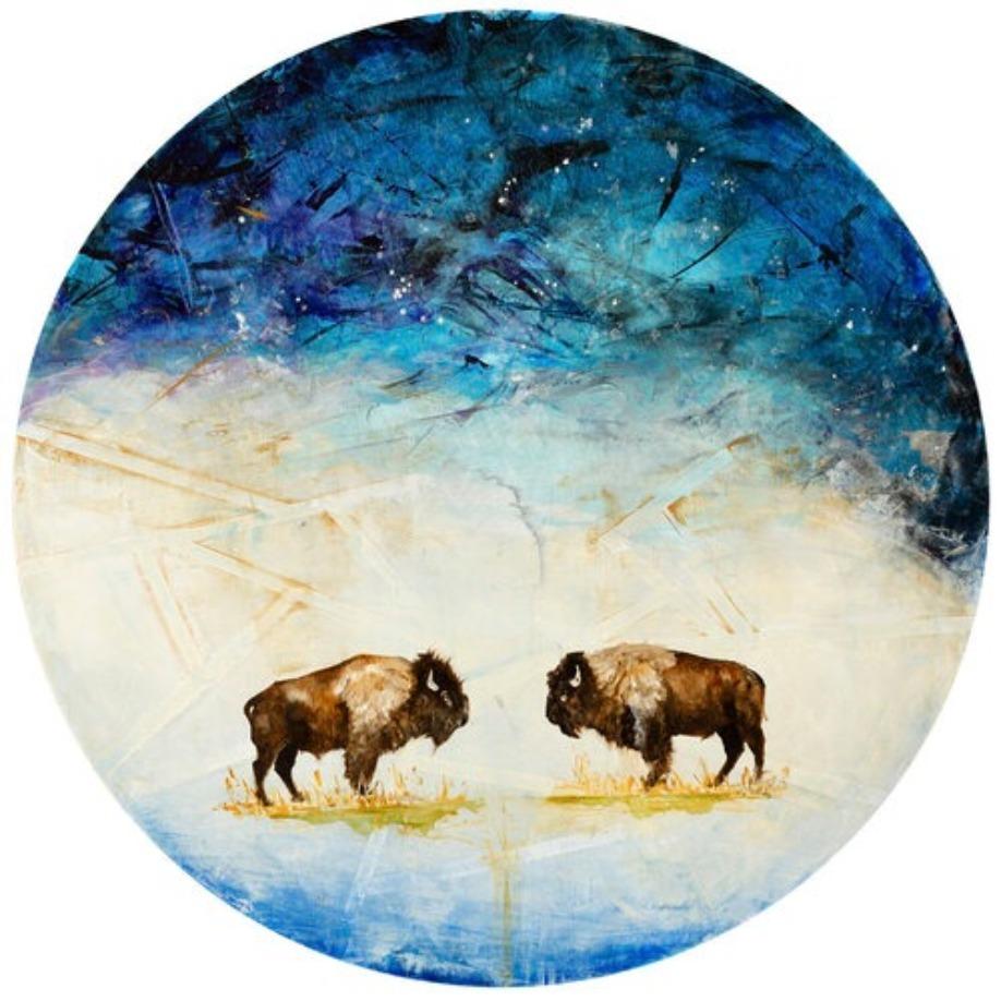 Gallery_Wild_Jenna_Von_Benedikt_Artist_Wildlife_Fine_Art_Painting_Bison